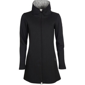 Elkline Blossom Sweat Coat Women, black
